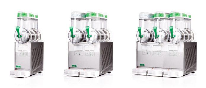 Bras Quark Eisgetränke - Leere Maschinen