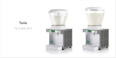 Bras Turia Kaltgetränke Dispenser Varianten 12 Liter und 19 Liter