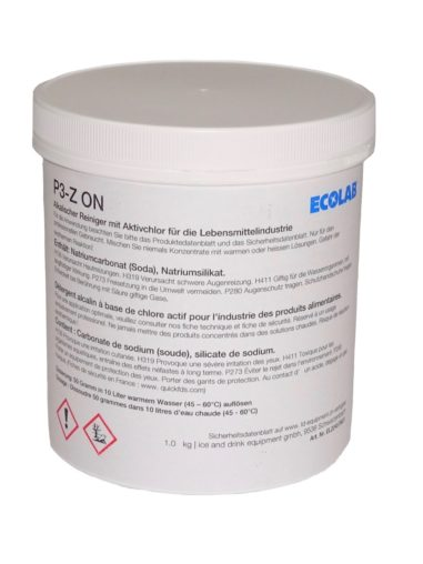 P3-Z ON Desinfektion Behälter von ECOLAB