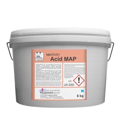 ideWash Acid MAP mit Reinigungsprodukten Gastronomie