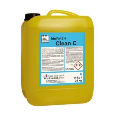 ideWash Eimer Clean C mit Reinigungsprodukten Gastronomie