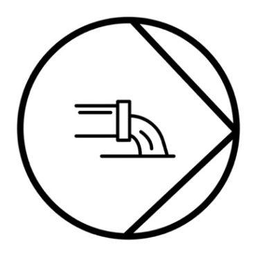 Kastel Option - Ablaufpumpe für Eiswürfelmaschinen