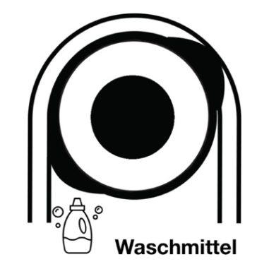 Symbol für Waschmittel