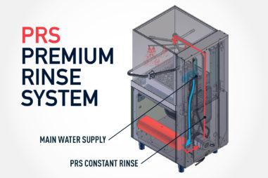 PRS Logo - Premium Rinse System Beschreibung