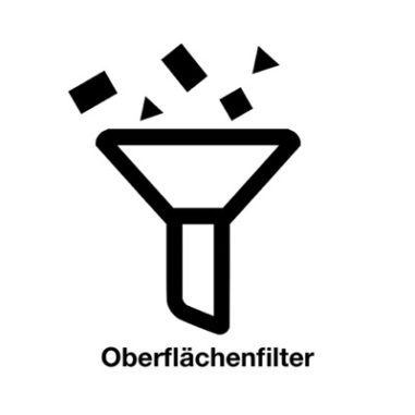 Oberflächenfilter Logo