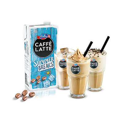 Eiskaffee - Emmi Caffe Latte Summer Breaks Gläser