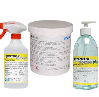Reinigung, Desinfektion & Pflege