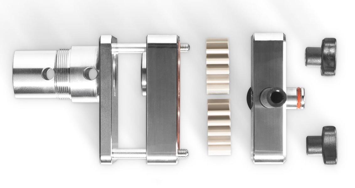 Gelmatic Softeismaschine Pumpe im Detail